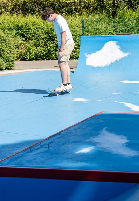 Skater op Casacourt © Vinnie De Craim