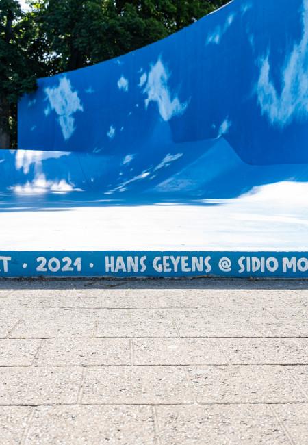Hans Geyens verft Casacourt © Vinnie De Craim