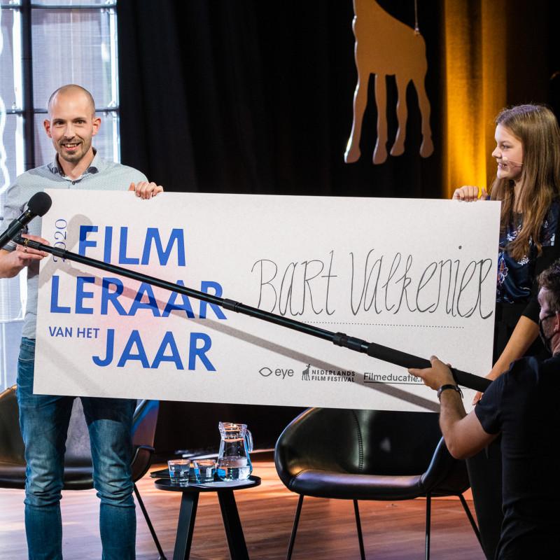 Verkiezingsevent Filmleraar van het Jaar 2021